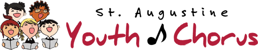 St. Augustine Youth Chorus Logo