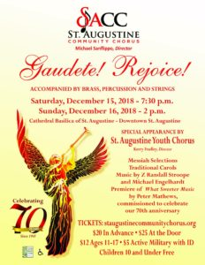Gaudete! Rejoice! @ Cathedral Basilica of St. Augustine | St. Augustine | Florida | United States